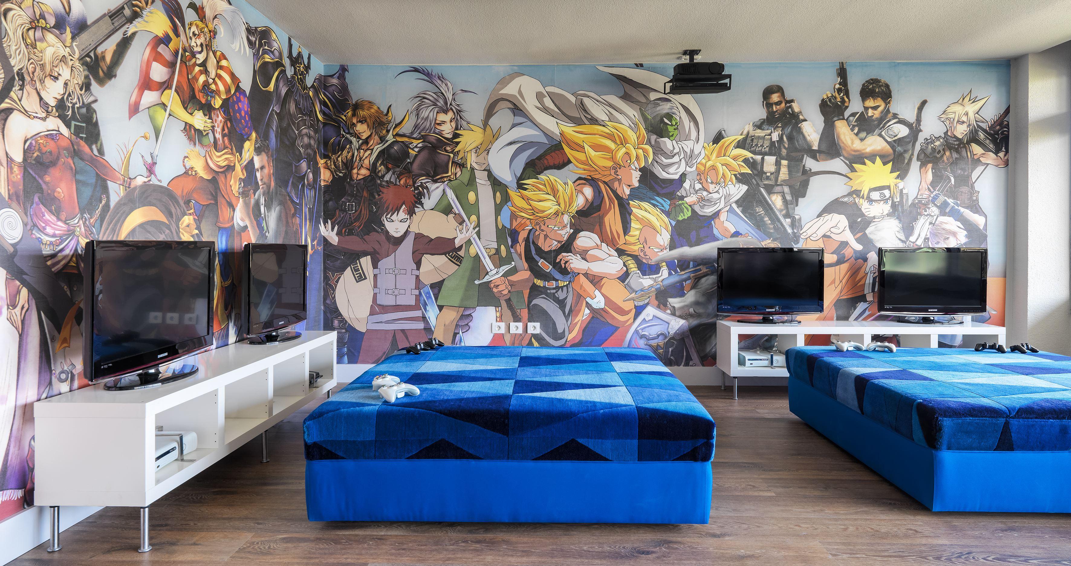 Tv-spelsrum på Hotell H10 Lanzarote Princess, Playa Blanca Lanzarote