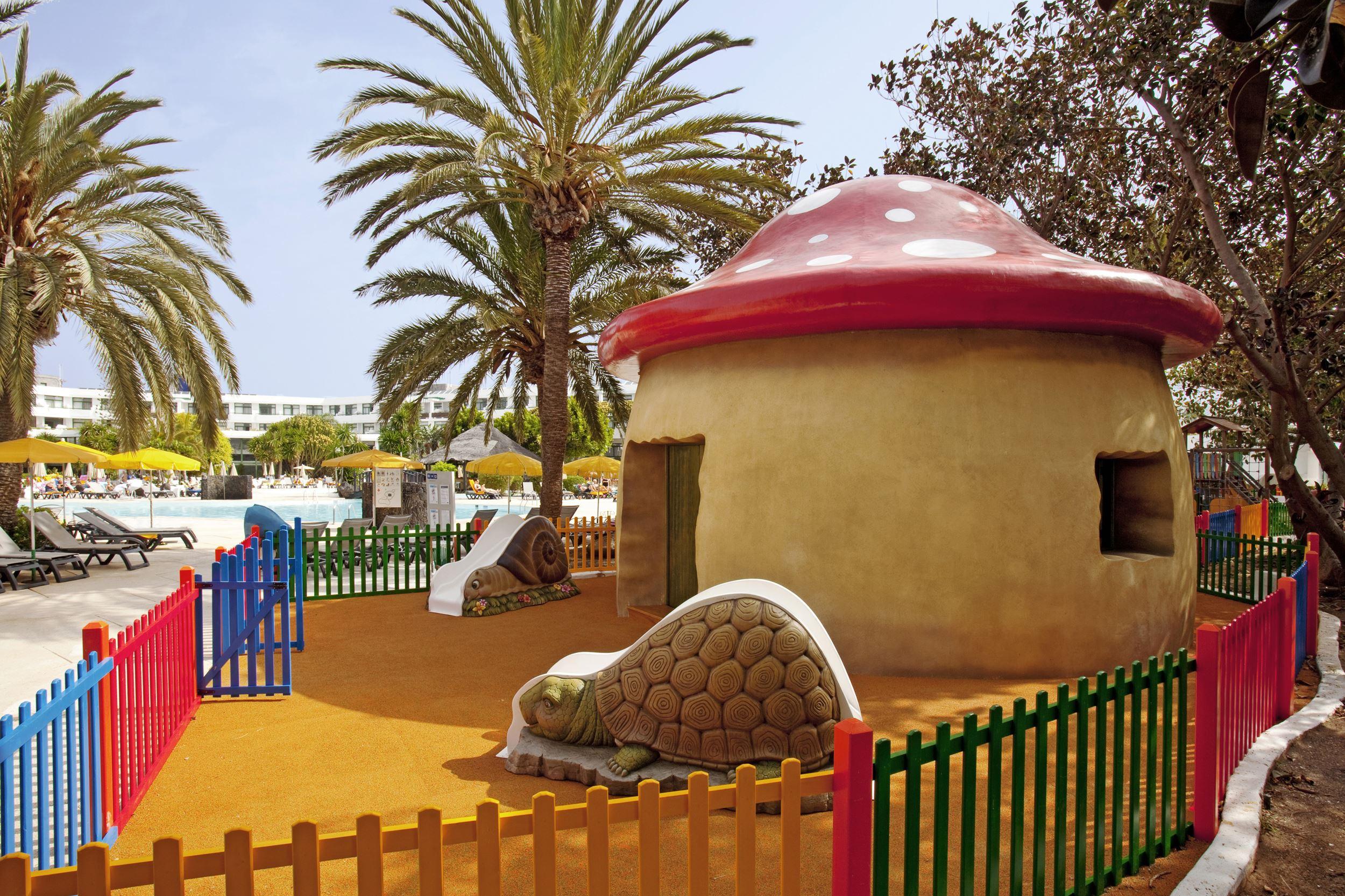Lekplats på Hotell H10 Lanzarote Princess, Playa Blanca Lanzarote