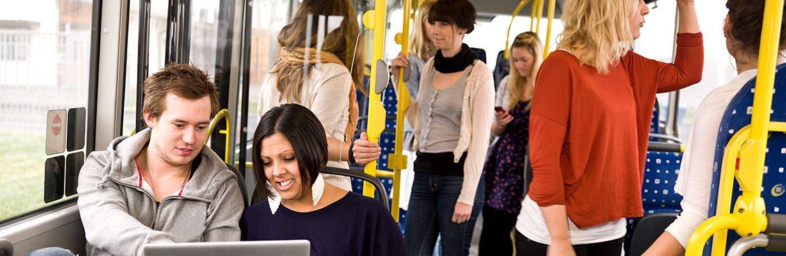 Stadsbussen i Mariehamn