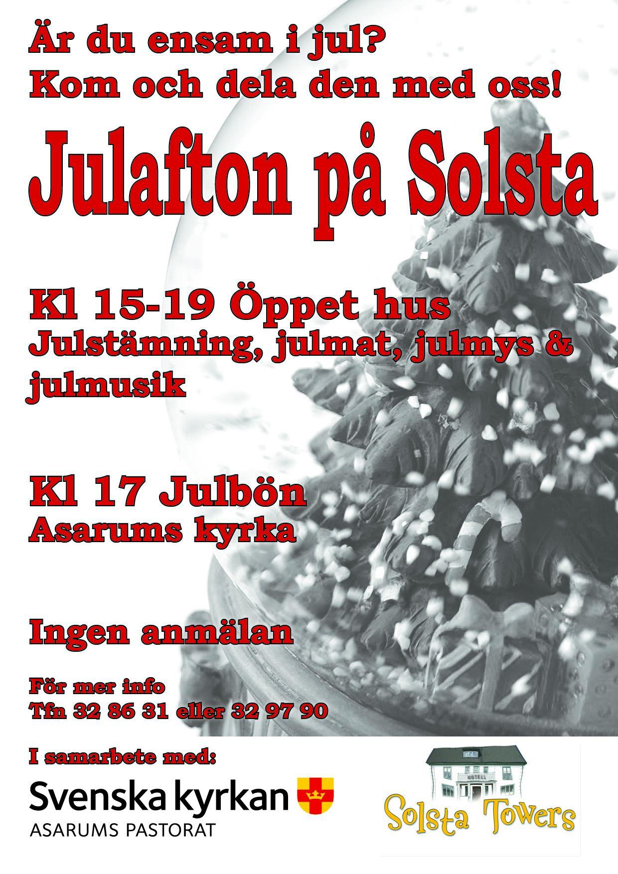 Julafton på Solsta