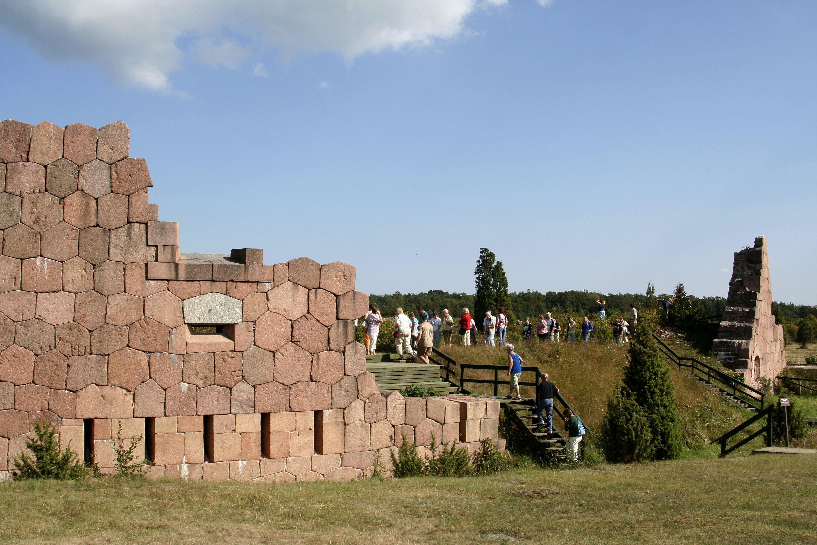 Bomarsunds fästningsruiner