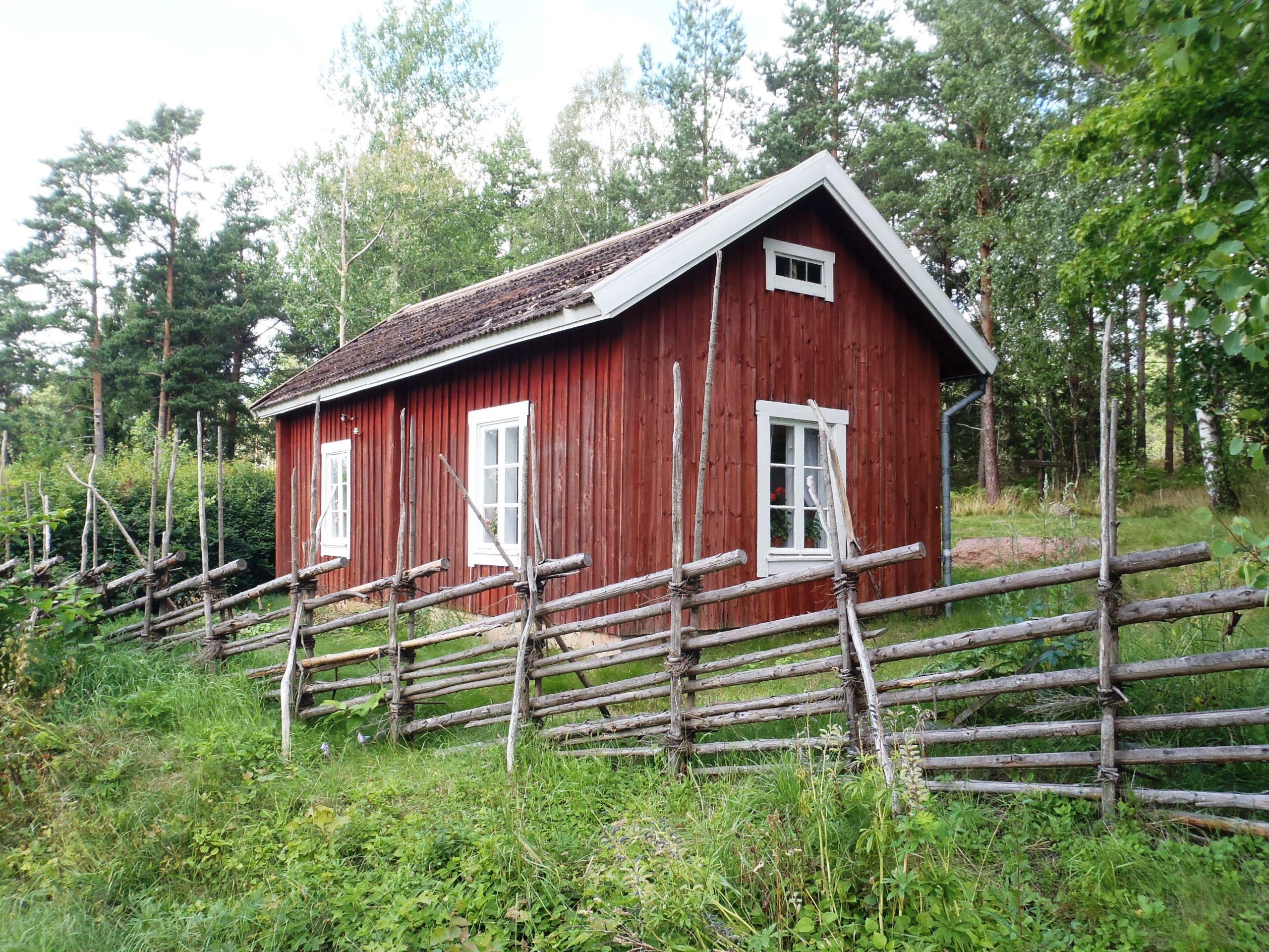 Borgboda fornminnesområde och Idas stuga