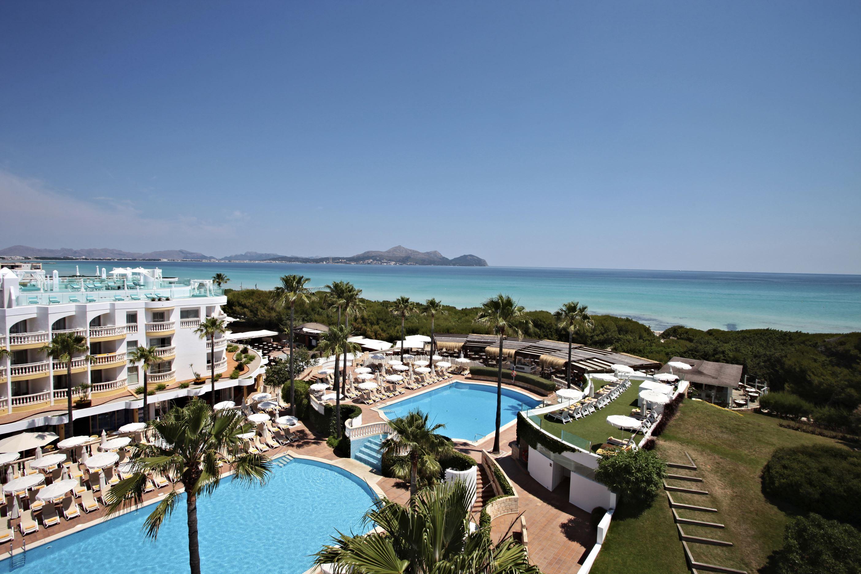 Iberostar Albufera Playa: Direkt strandläge i Alcudia – Halvpension ingår!