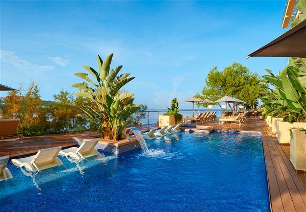 Pool på Iberostar Suite Hotel Jardin del Sol, Santa Ponsa Mallorca