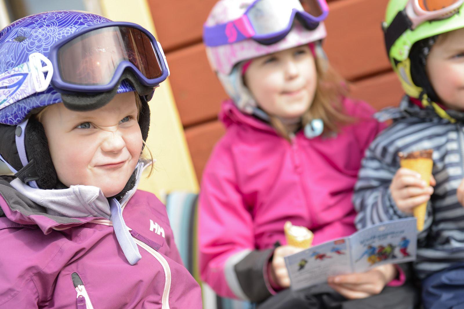 Bergsäventyret för barn i Järvsöbacken