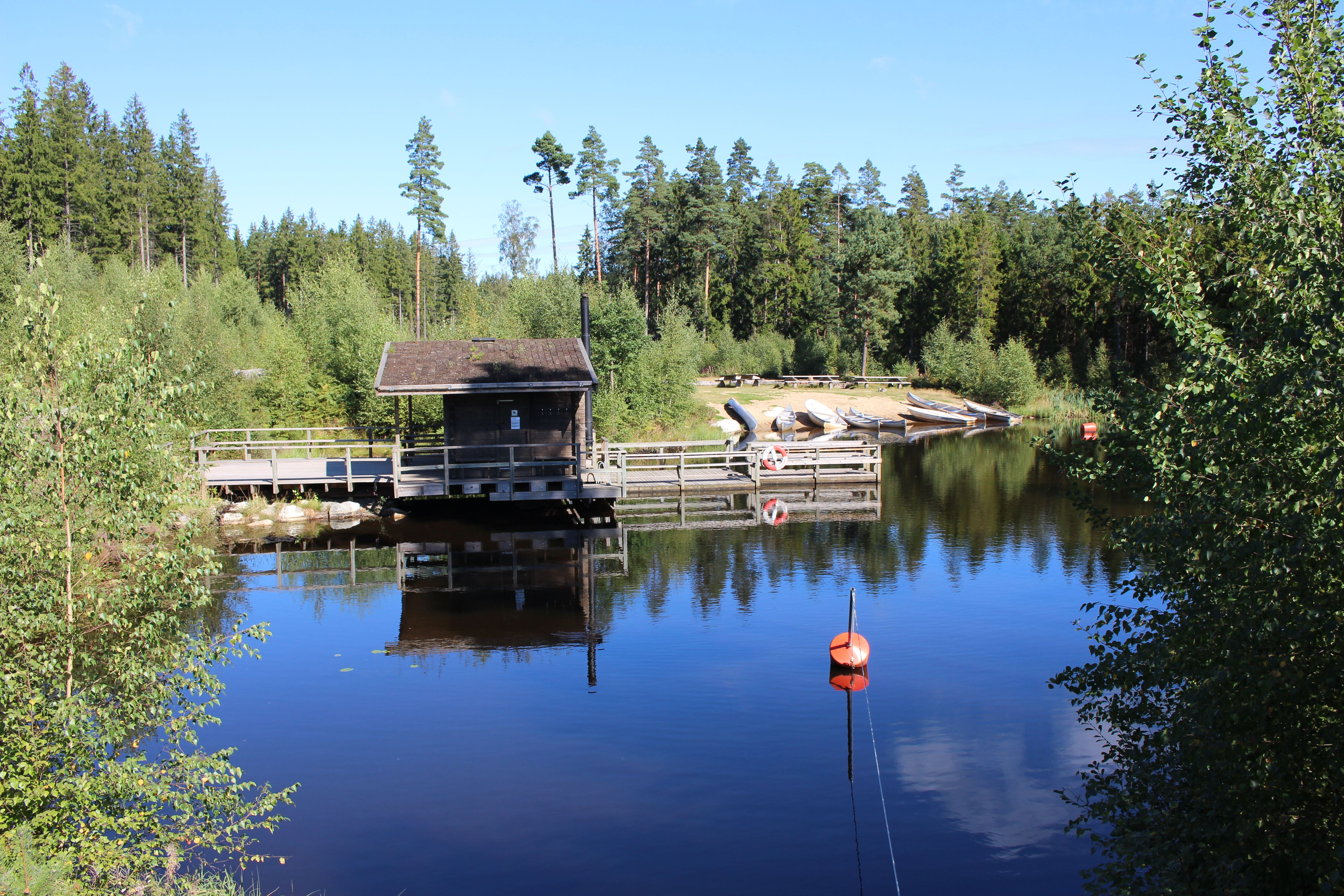Johan Söderlund,  © Tingsryds kommun, Hätteboda Wildernesscamping - SCR VM
