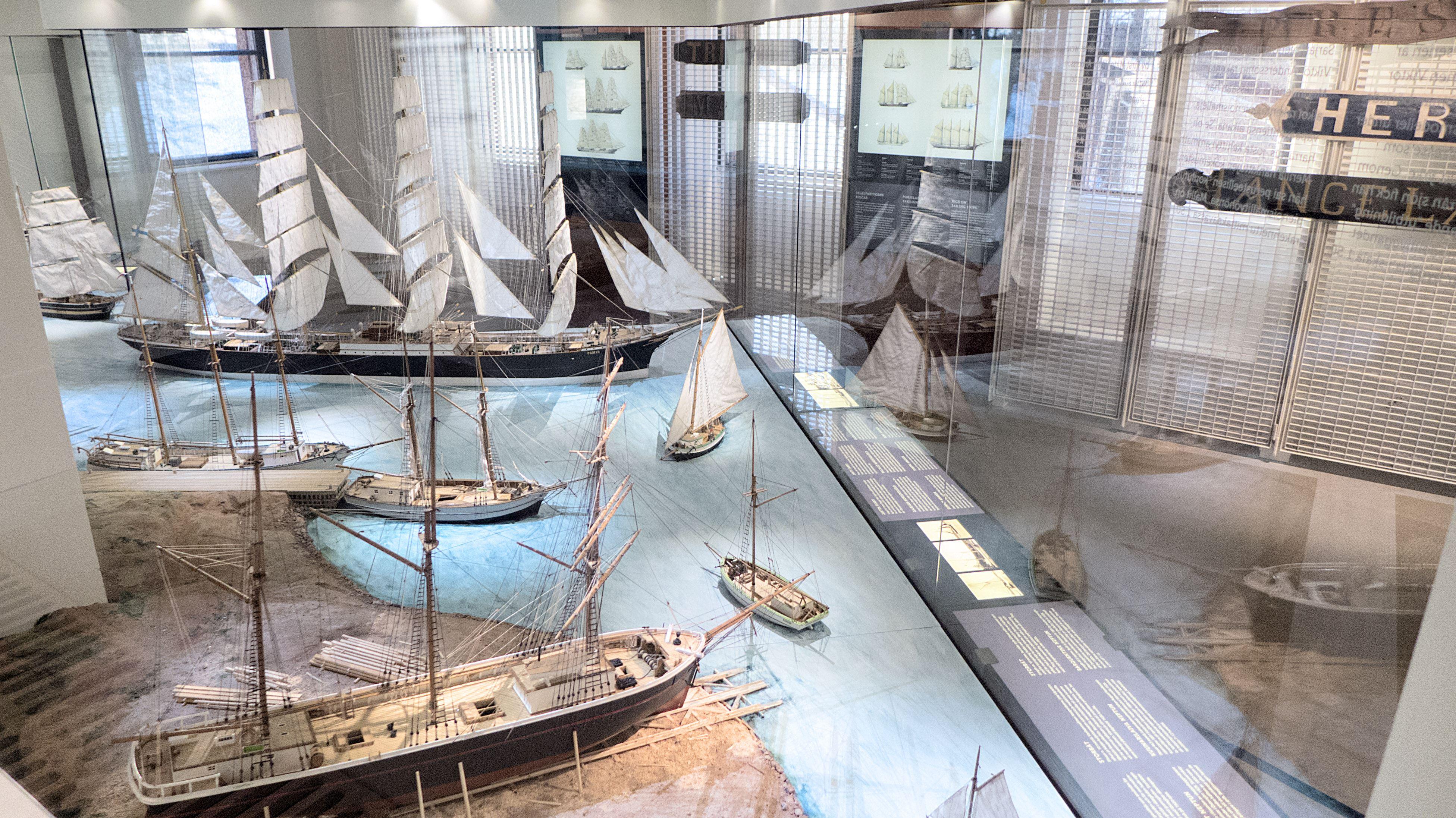 Entré till Ålands Sjöfartsmuseum