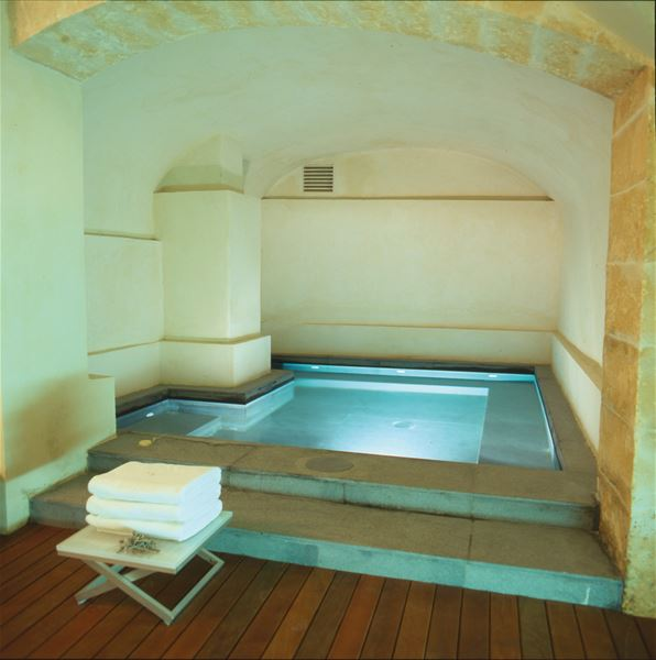 Inomhuspool på Hotell Convent de la Missió, Palma Mallorca