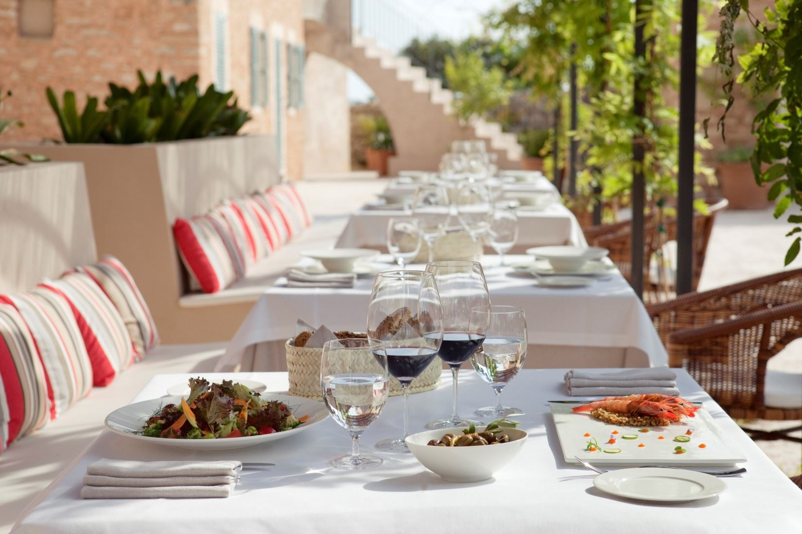 Restaurang på Hotell Predi Son Jaumell, Capdepera Mallorca