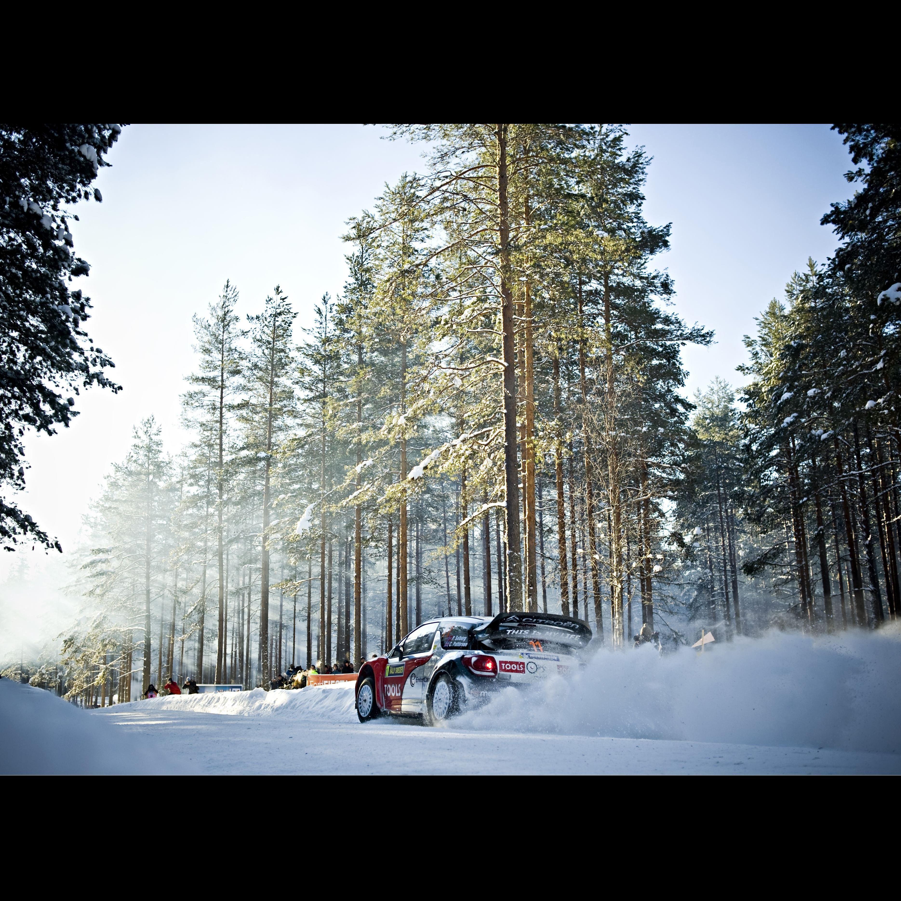 VM Rally Sweden - Fredriksberg