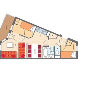 TEMPLES DU SOLEIL NAZCA H6 / APARTMENT 2 ROOMS 6 PEOPLE - CI