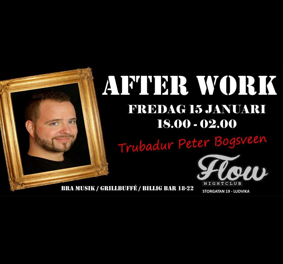After Work med Peter Bogsveen