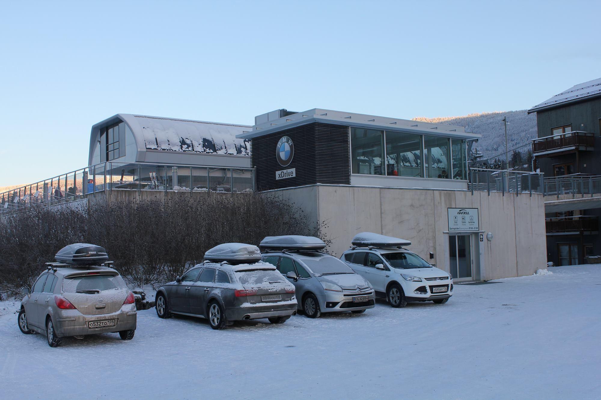 Rental of ski lockers at Hafjell