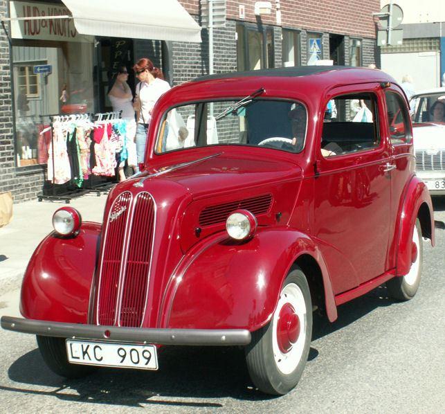 Bilutställning i Hedemora Folkets Park
