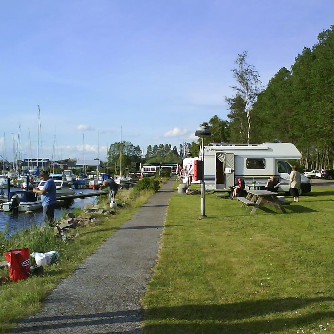 Ställplatser i Lundåkrahamnen,  © Ställplatser i Lundåkrahamnen, Mobile homes, Lundåkrahamnen