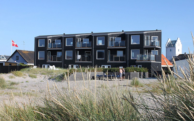 Strand og sol husene Læsø Strand