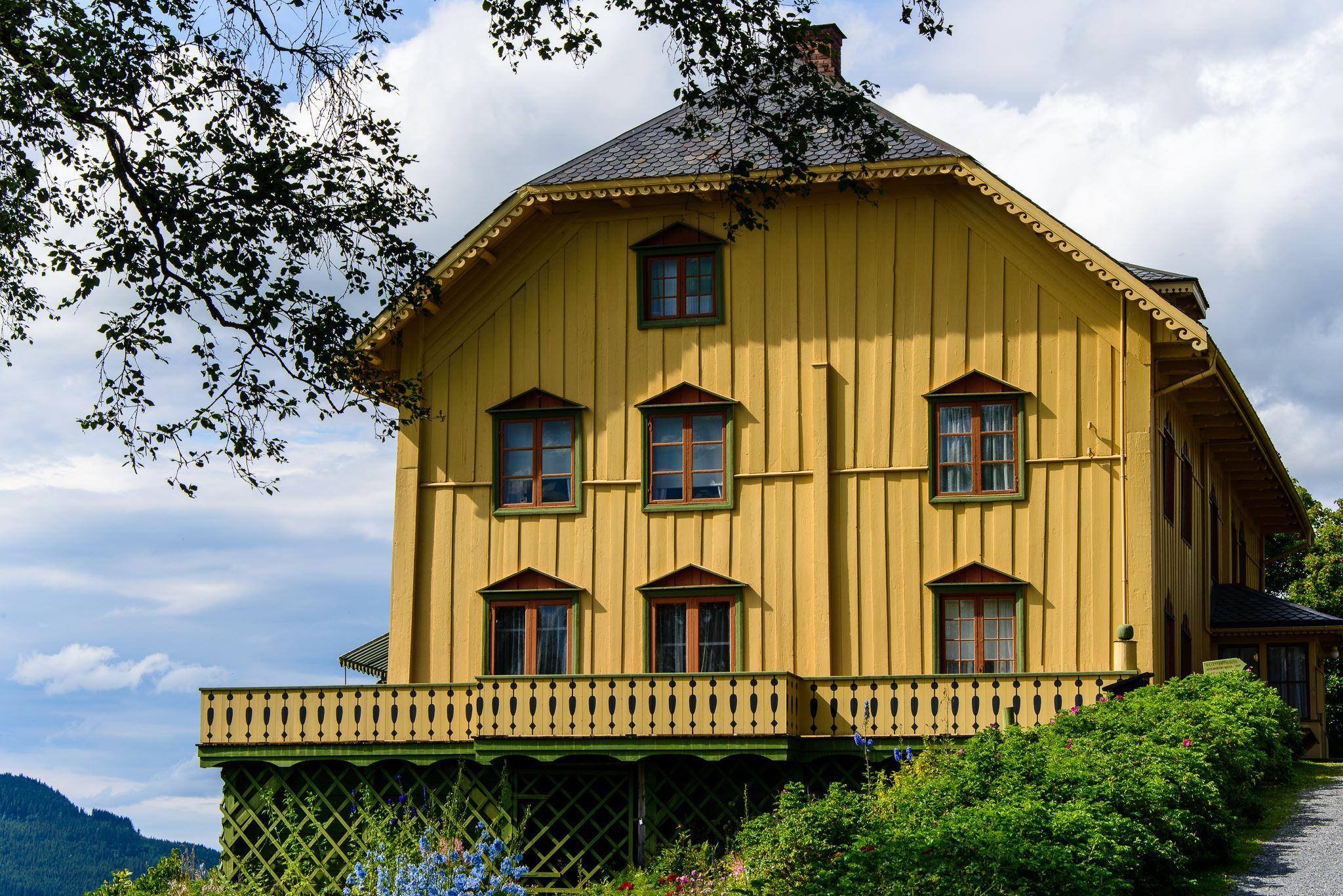 Aulestad – das Zuhause von Bjørnstjerne Bjørnsons