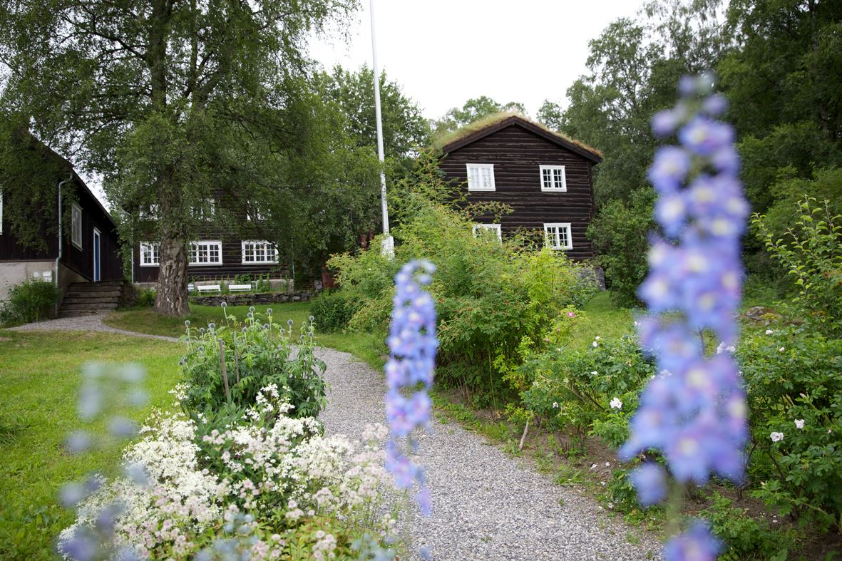 Bjerkebæk- Sigrid Undsets Home