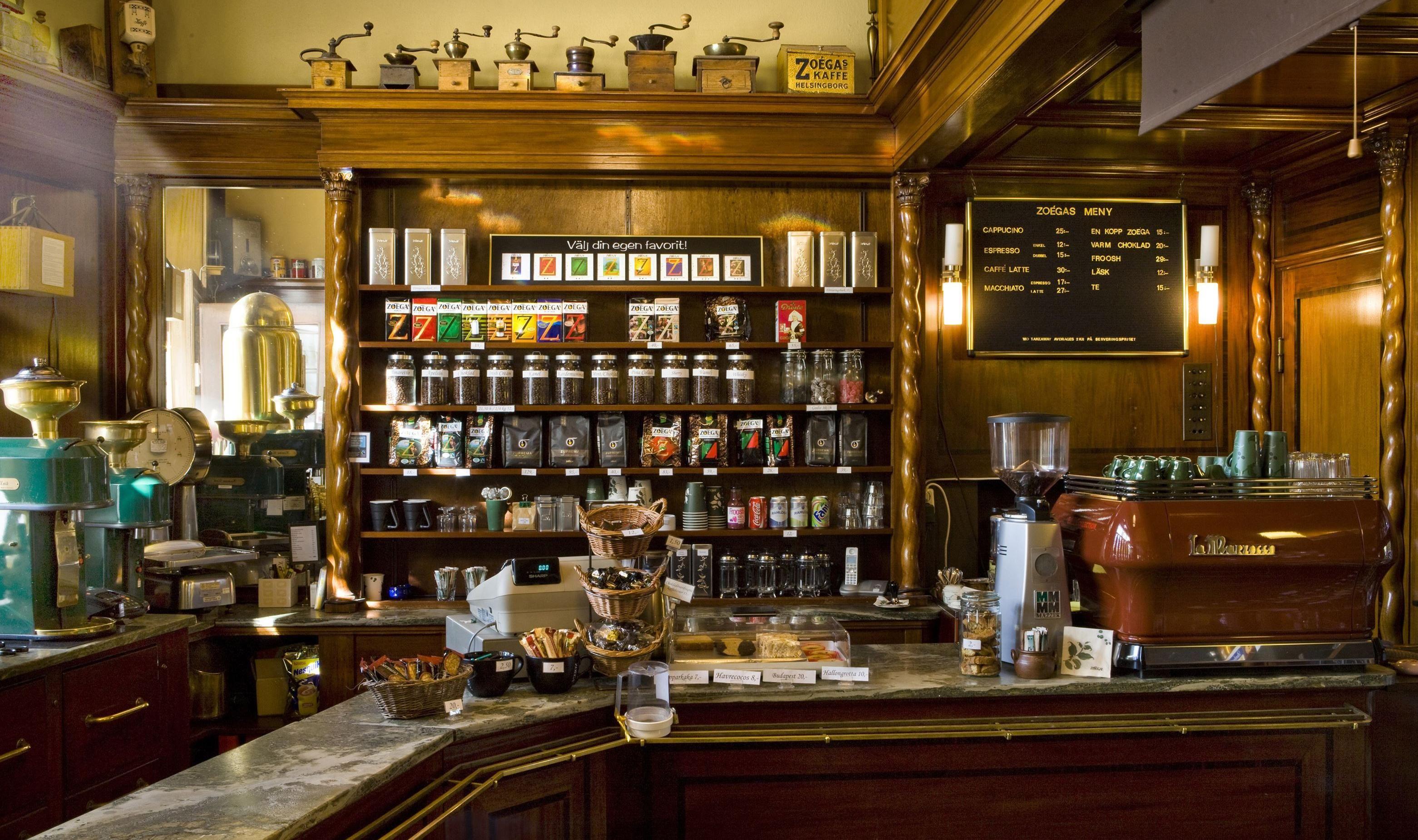 ZOÉGAS Café och Butik