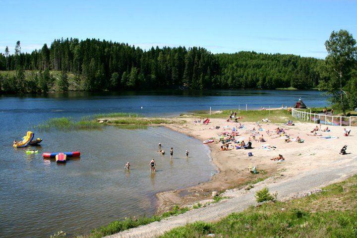 Årjäng Camping & Stugor, Sommarvik