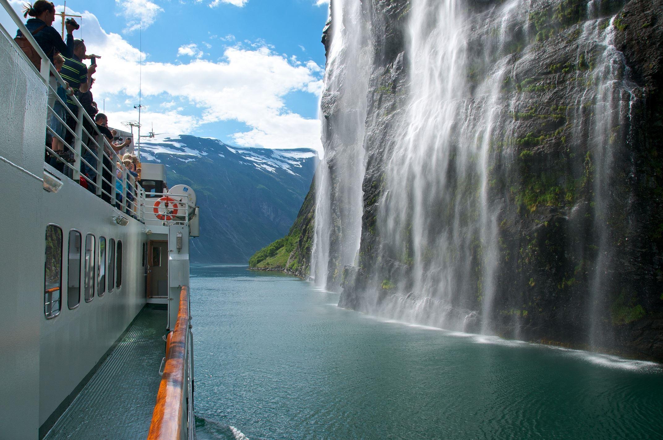 Øyvind Heen - Visit Norway, Fjord Cruise Geirangerfjord GRP