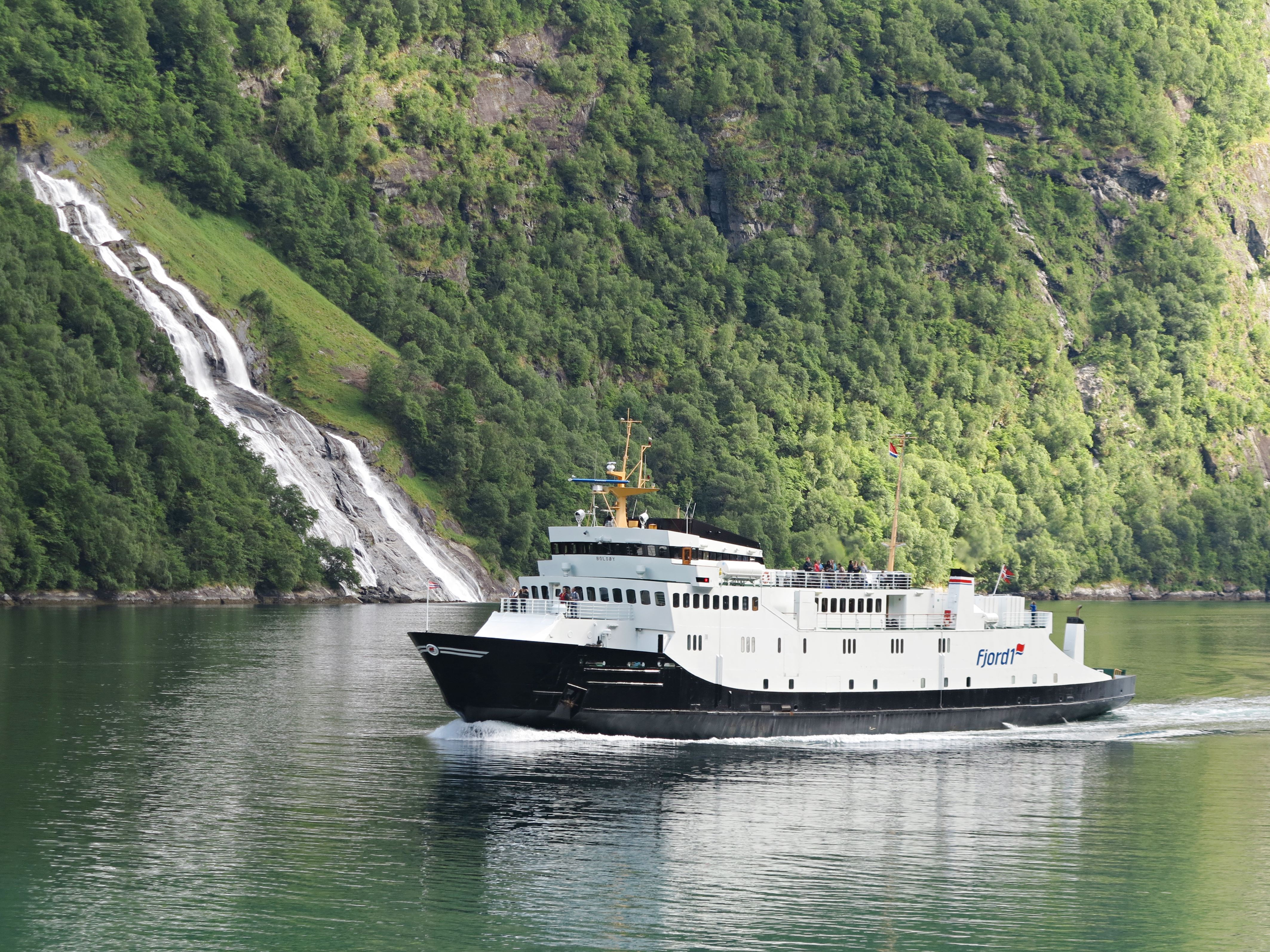 Fjord Cruise Geirangerfjord GRP