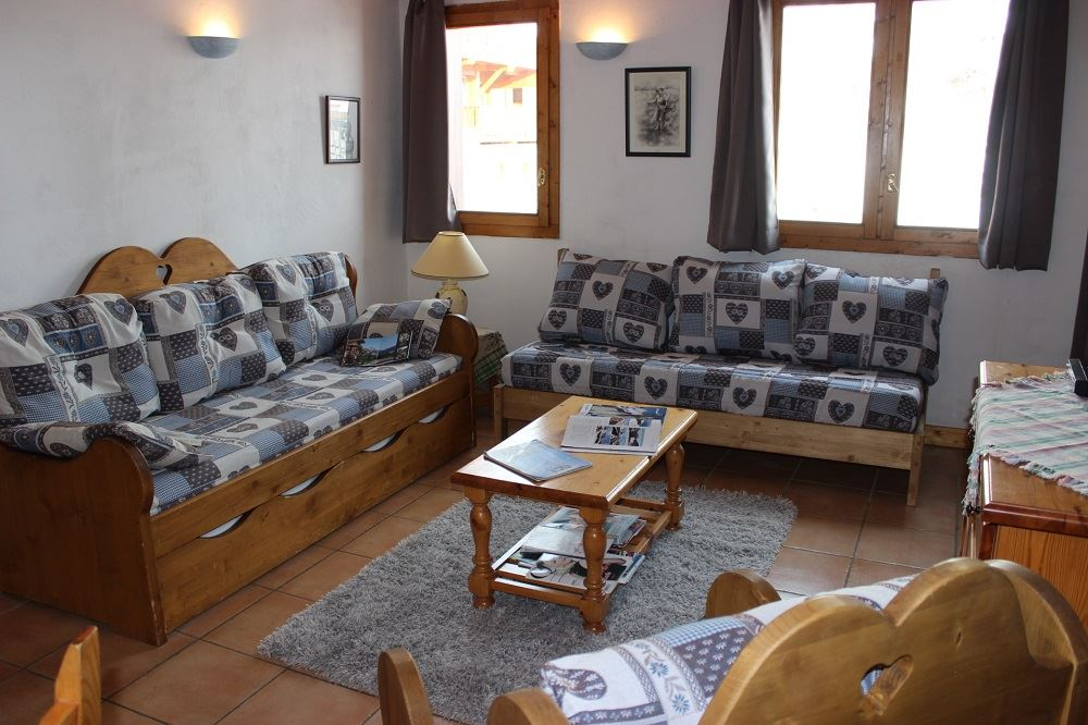 CHALET EMERAUDE 4 / APPARTEMENT 2 PIECES 5 PERSONNES - 2 FLOCONS ARGENT - VTI