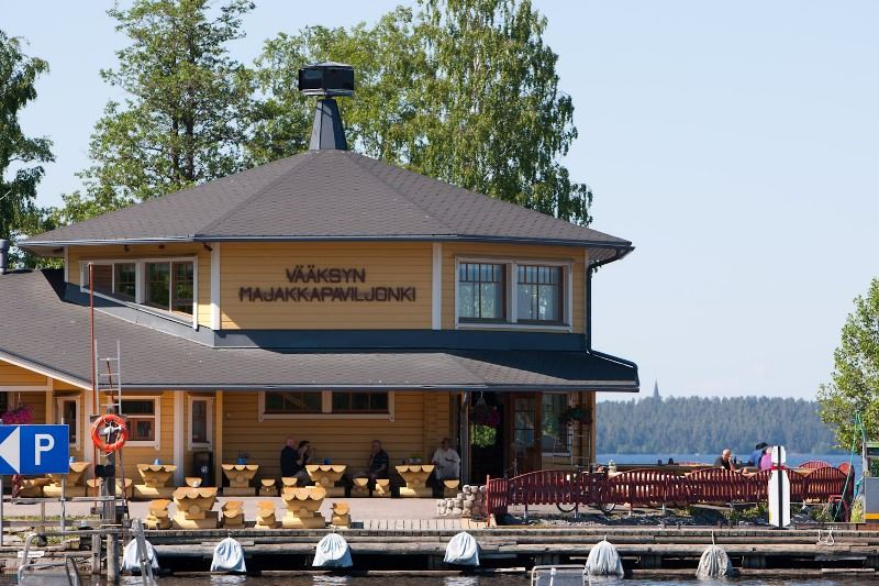 Old Vääksy Village | Majakka-Paviljonki Restaurant