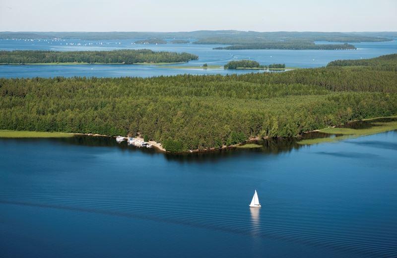 Päijänne National Park | Kelvenne ridge island