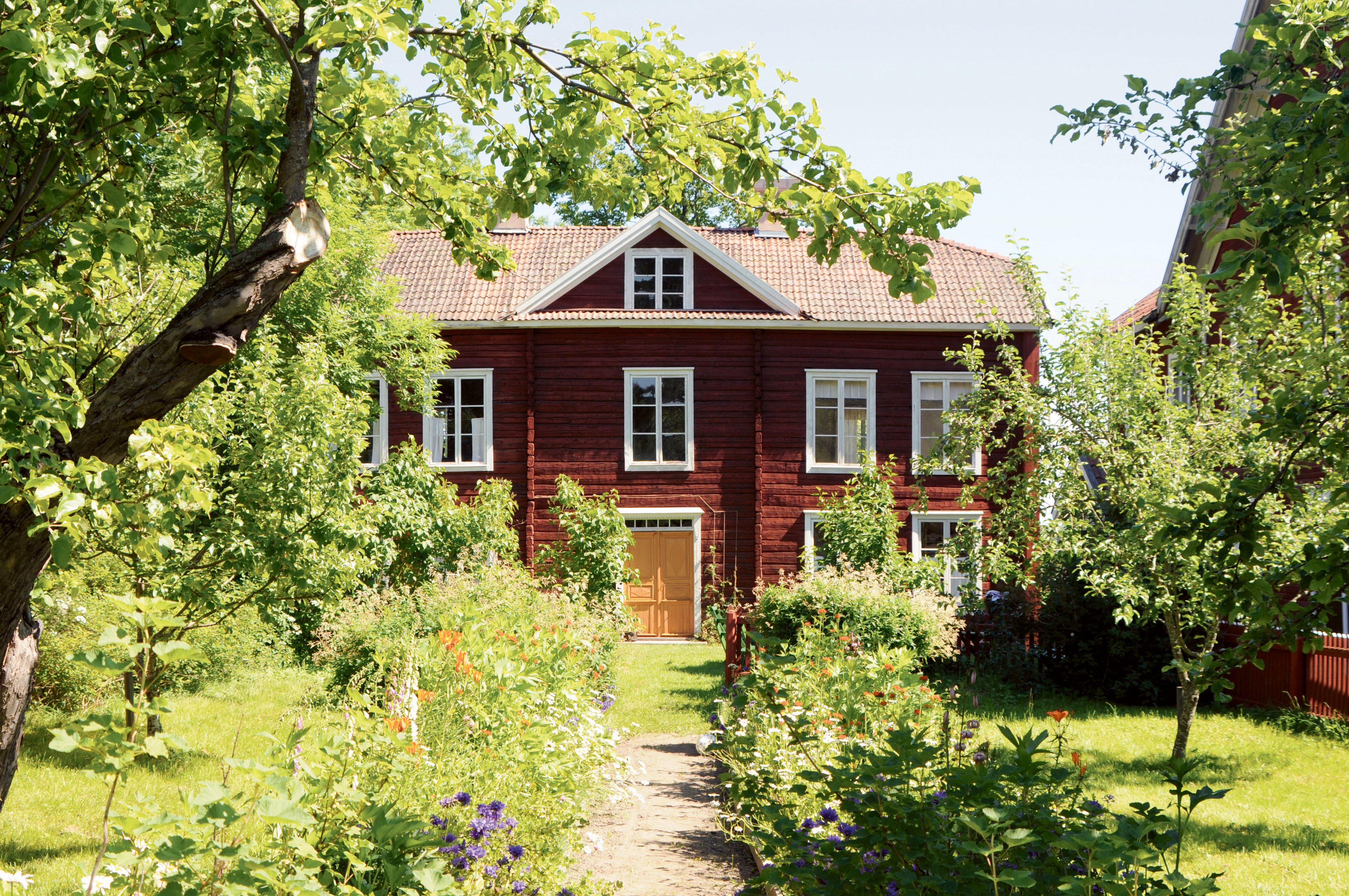 Erik-Anders - Besökscenter -  Världsarvsgård och Hälsingegård
