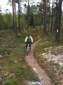 Mountainbike dag/guidad MTB cykeltur