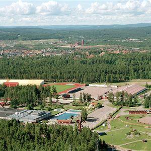 Lugnet, Falun