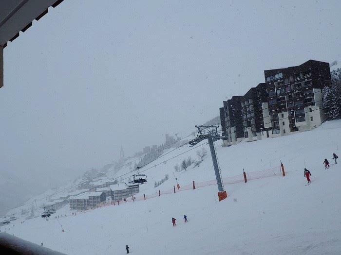 Studio 4 Pers skis aux pieds / SKI SOLEIL 1203