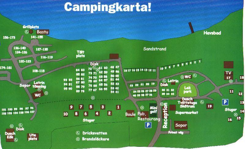 Bergafjärdens Camping & Havsbad/Camping