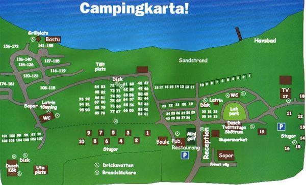 Bergafjärdens Camping & Havsbad/Cottages