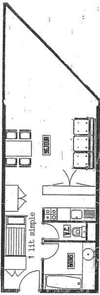 TROIS VALLEES 622 / STUDIO 3 PERSONNES - ADA
