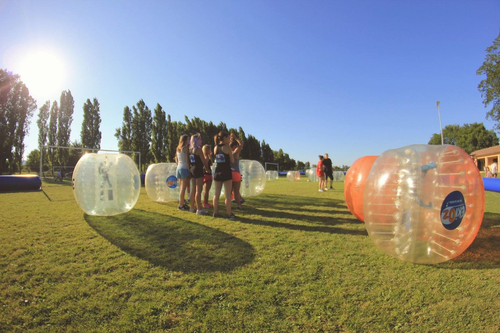 Bubble Foot avec EkiOz