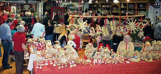 Julmarknad på JohannaMuseet