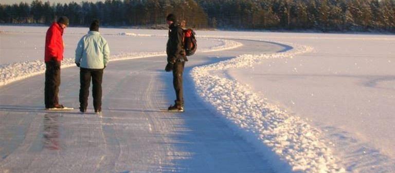 Skating Dalarna Öje
