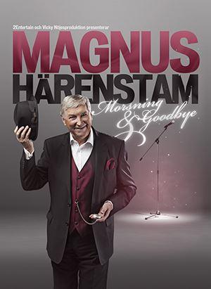 En bild av Magnus Härenstam i hatt och kavaj.