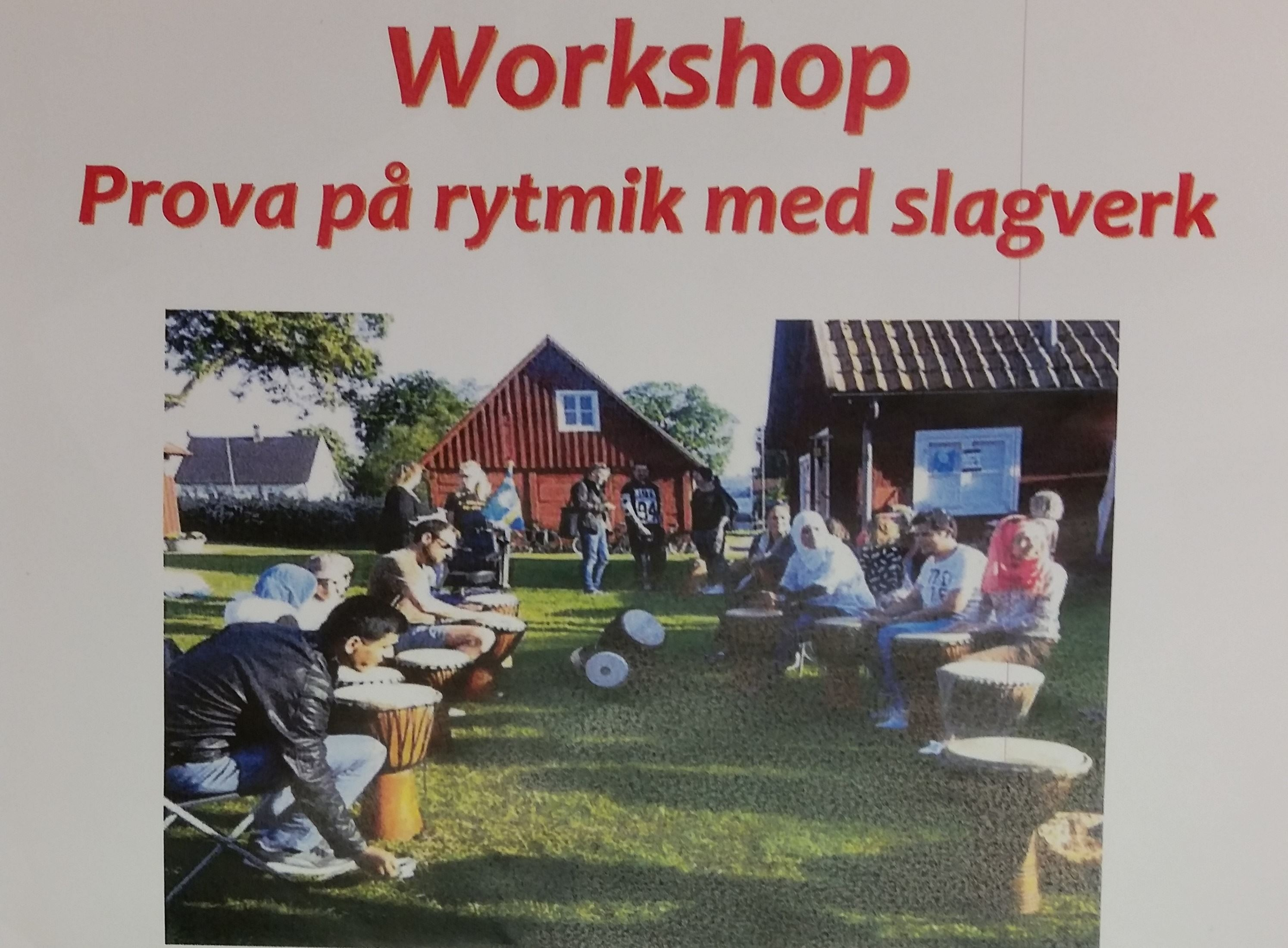 Workshop - Prova på rytmik med slagverk