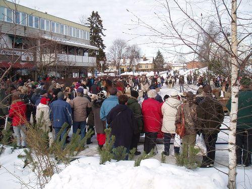 vintermarknad Ockelbo