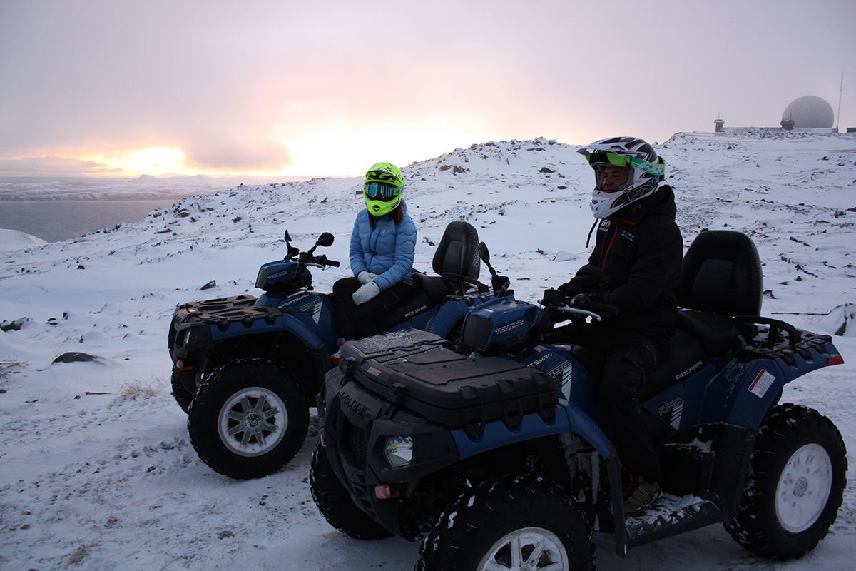 Northern Lights ATV-safari