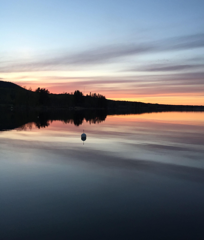Therese Blomdahl-Dahlin, Solnedgång Forsasjön