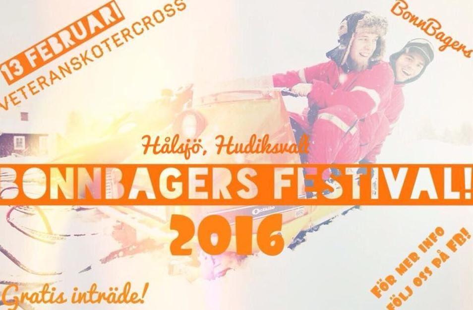 Veteranskoterkross med afterskoter - BonnBagers festival 2016!