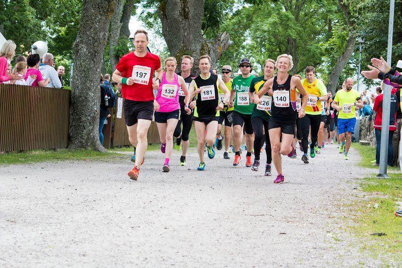 Running competition - Kustmaran & around Kristianopel  2017