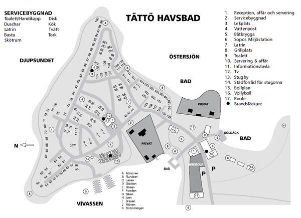Tättö Havsbad & Camping/Cottages