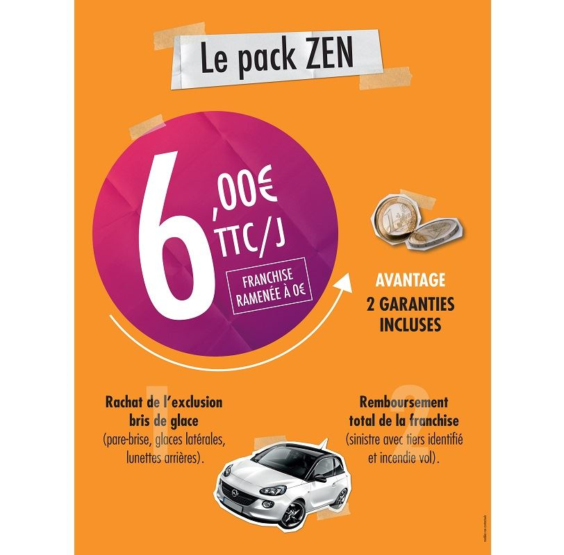 Rent a car with UCAR Montpellier