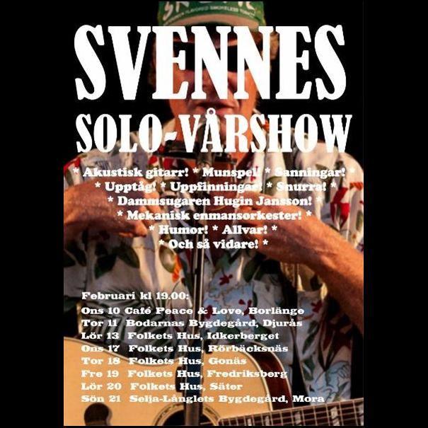 Svennes Solo-Vårturné