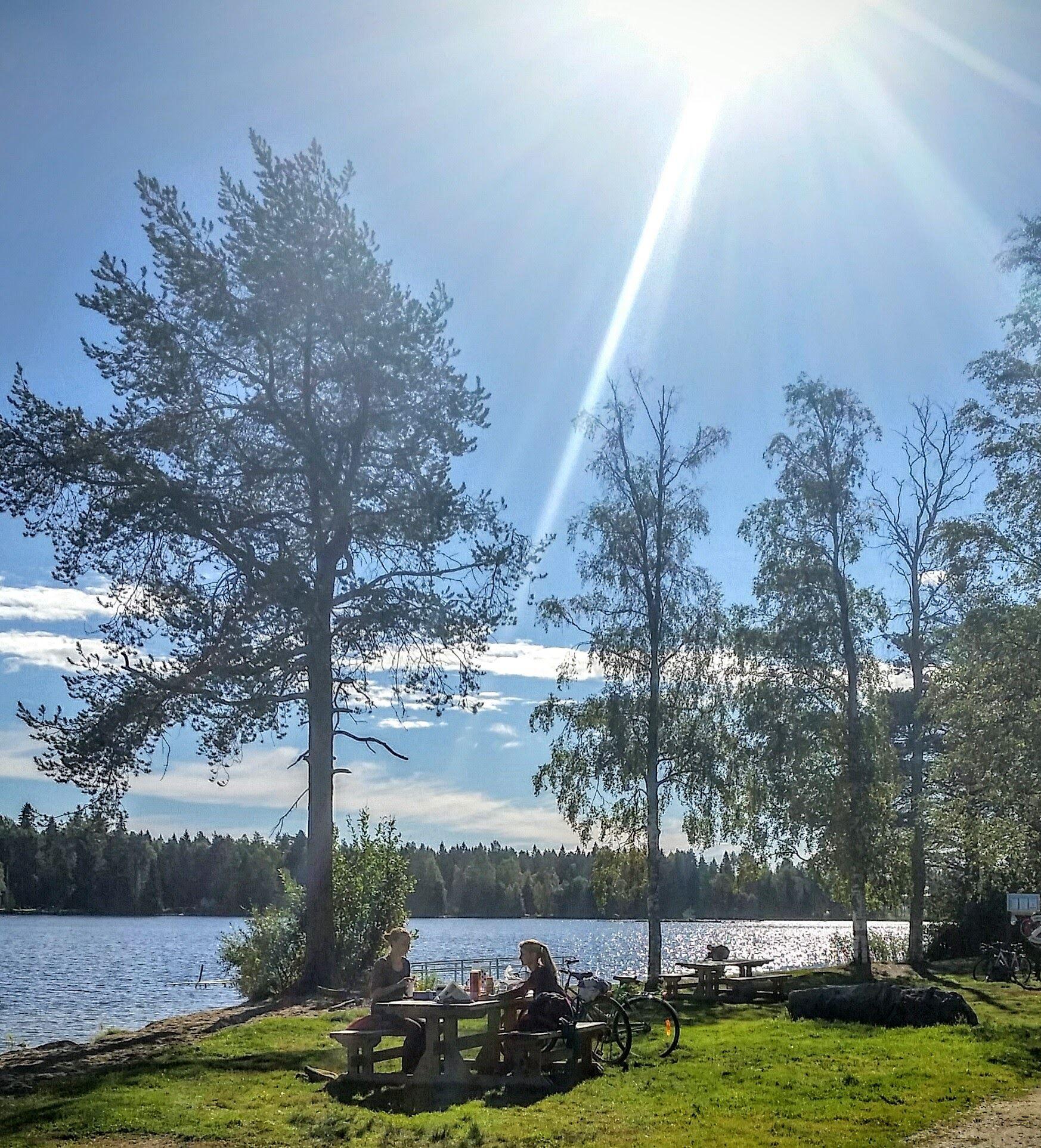 © Visit Umeå, Badplatser kring Nydalasjön